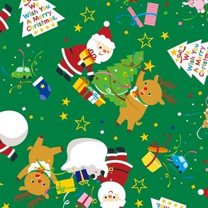 Christmas Wrapper Cracker Noel Whole Sheet Half Sheet