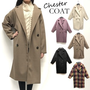 Fake Double Chesterfield Coat