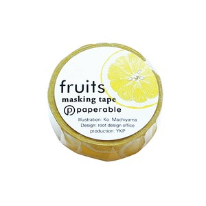 Fruit Washi Tape Lemon