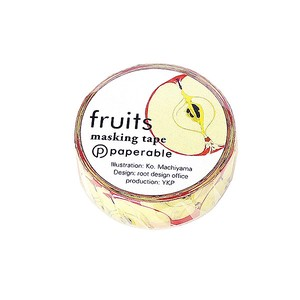 Fruit Washi Tape Apple