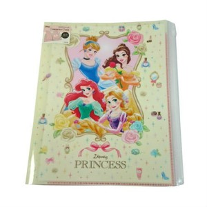 Princes A4 Plastic Folder Fastener Pocket Character