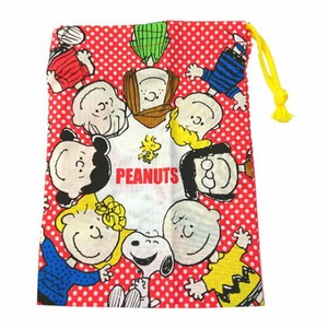 Peanuts Toothbrush Holder Attached Cup Bag