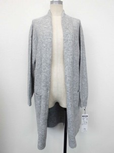 lame Drop Shoulder Knitted Cardigan
