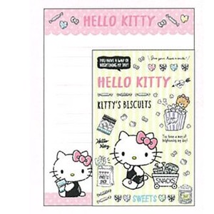 Hello Kitty Writing Papers & Envelope Character