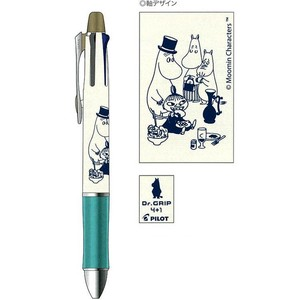 The Moomins Doctor Grip sharp Ballpoint Pen White