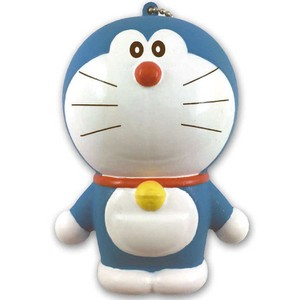 Doraemon Punipuni Mascot Ball Chain Attached Osumashi