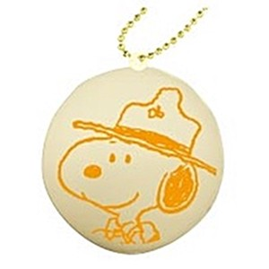 Mascot Ball Chain Attached Big Macaroon