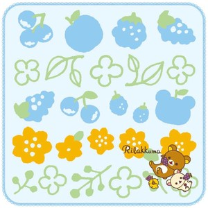 Rilakkuma Mini Towel favourite Blue