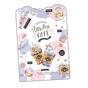 Stationery plastic sheet SWEET
