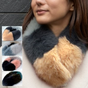 Fox Fur Scarf Color Scheme Tippet Fur Scarf Ladies