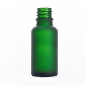 Green Glass Light Shielding Attached Cap Aroma Storage Container
