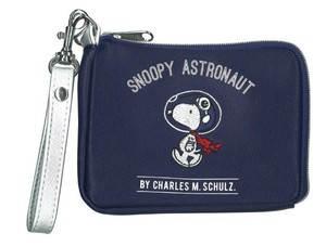 Snoopy Astro-Notes Pouch Navy
