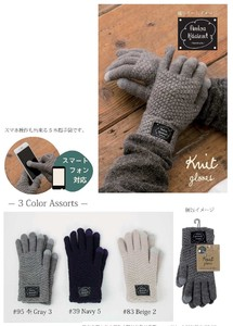 2018 A/W Smartphone Five Fingers Plain Glove