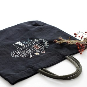 Embroidery Series Nylon Tote Bag