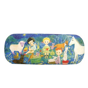 Eyeglass Case Starry Sky Picnic