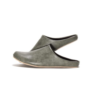 Limited Color Khaki Leather Room Shoe Slipper Gift