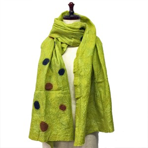 cocora Silk Wool Dot Stole