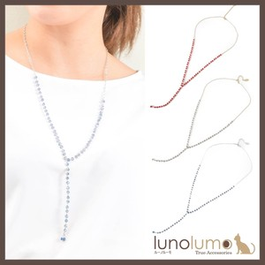 2018 A/W Color Crystal Necklace