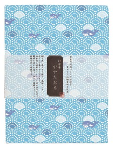 Fabric Towel Whale Fabric