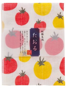 Fabric Towel Tomato Dot Fabric