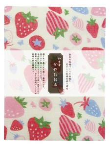 Fabric Towel Strawberry Fabric