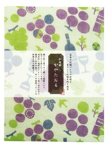 Fabric Towel Grape Fabric