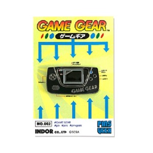 PINS GEEK ゲームギア ピンズ