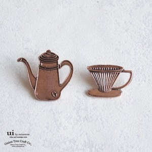 Brooch Pot Dripper Cup Coffee pin Accessory