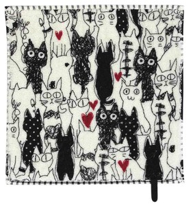 cat Family Handkerchief