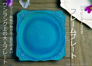 Turquoise Frame Plate
