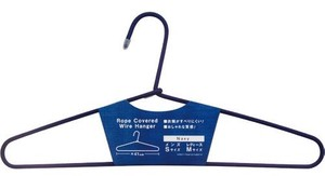 Rope Cover Wire Clothes Hanger Navy