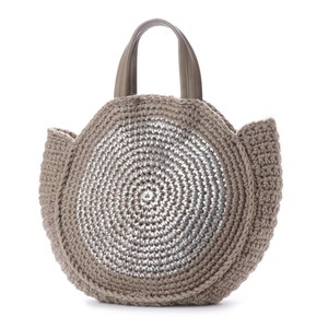 2018 A/W Metallic Print Circle Bag