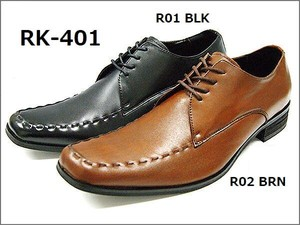 Men's Long Nose Genuine Leather Business Shoes