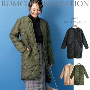 2018 A/W Padding Kilting Coat Long