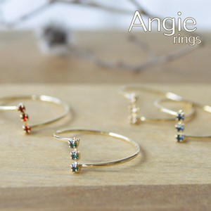 4 Colors Crystal Color Ring