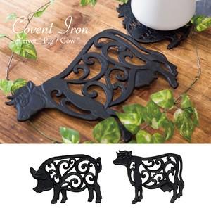 Covent Iron コベントアイアン[トリベット(Pig / Cow)]<アイアン雑貨>