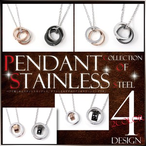 Stainless Pendant Gift Men's Ladies Accessory S/S A/W