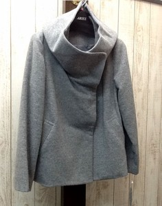 Stand Wool Jacket Coat