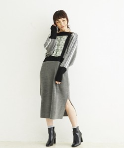 WOOL MIX JQ.・ONE PIECE DRESS