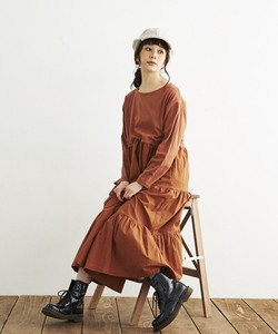 COTTON SINKER×POPLIN・ONE PIECE DRESS
