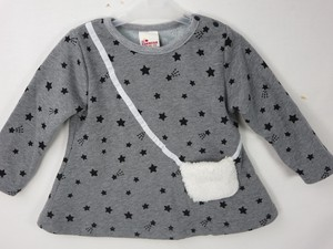 A/W Pouch Attached Star Pattern Tunic