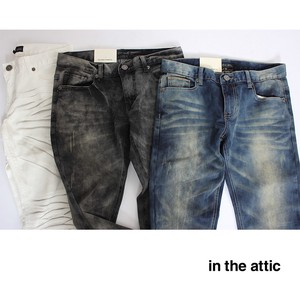 Stretch Denim Processing Pants