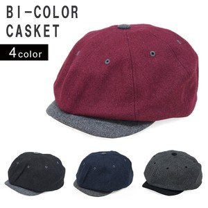 Casquette Hats & Cap Men's Ladies Flat cap Attached Plain Wool KEYS
