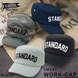 Hats & Cap Cap Work Military Cap Men's Sweat PENNANTBANNERS