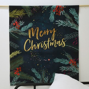 Fabric Panel Fabric Christmas Carol Illustration Unit Cut