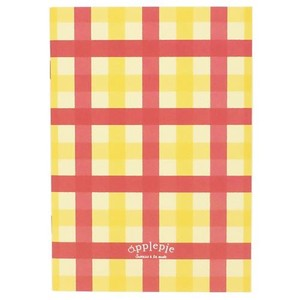 Grid Notebook Sweets Mode Notebook Apple Checkered
