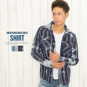 Checkered Shirt Long Sleeve Shirt