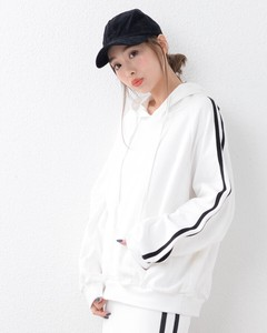 Line Wide Silhouette Sweat Hoody Sweat Korea Hoody