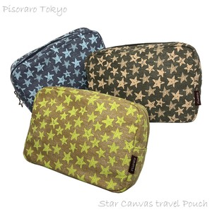 Star Canvas Travel Pouch Diapers Purse Mini Bag