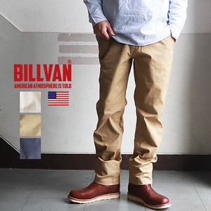 Tapered Slim Duck Canvas Fabric Chino Pants